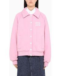 Miu Miu Pink League Sweatshirt