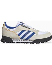adidas Originals Sneaker Boston Super x Marathon bianca/blu/cream - Bianco