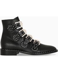 Givenchy Stivaletto Elegant Studs nero
