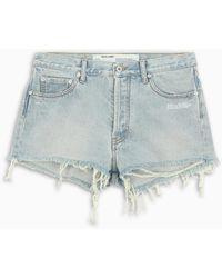 Off-White c/o Virgil Abloh Tm Light Blue Denim Shorts