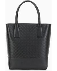 Bottega Veneta Black Shopping Bag