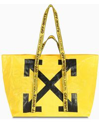 Off-White c/o Virgil Abloh New Commercial Tote - Yellow
