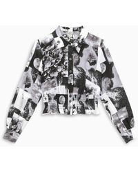 Baum und Pferdgarten White/black Maeko Shirt