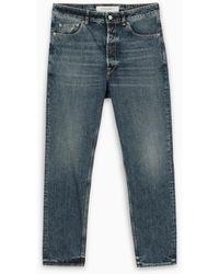 Golden Goose Deluxe Brand Jeans slim blu scuro
