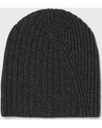 Helmut Lang - Mixed Rib Hat - Lyst