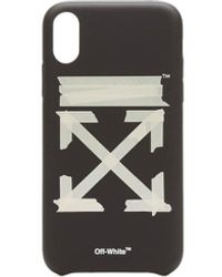 Off-White c/o Virgil Abloh Cover iPhone XR Tape Arrows - Multicolore