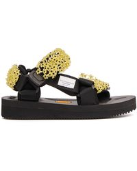 Cecilie Bahnsen Rubber Sandals With Embroidery - Multicolour