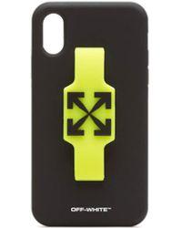 Off-White c/o Virgil Abloh Iphone Xr Logo Cover Case - Multicolour