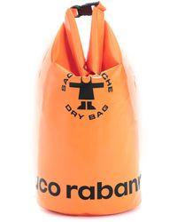 Paco Rabanne Orange Rain Duffle Bag