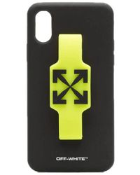 Off-White c/o Virgil Abloh Cover iPhone XS Logo - Multicolore