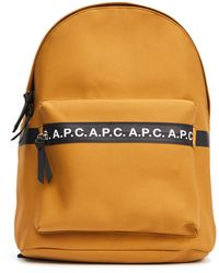 A.P.C. Camel Logo Backpack - Multicolour