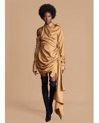 FRUCHE Onyisi Camel Dress - Natural