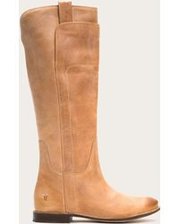 Frye Paige Tall Riding Boots | Frye Since 1863 - Brown