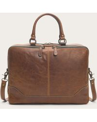 Frye Logan Work Bag - Brown