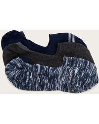Frye 3 Pack Lena Spacedye Sneaker Liner - Blue