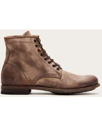 Frye Tyler Lace Up - Brown