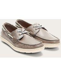 Frye Mayer Boat Shoe - Gray
