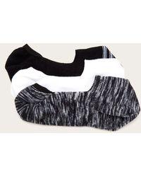 Frye 3 Pack Lena Spacedye Sneaker Liner - Black
