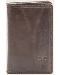 Frye - Logan Wallet Small - Lyst