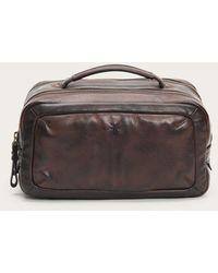 Frye Murray Travel Case - Brown