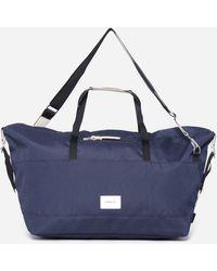 Sandqvist Natural Leather Bag - Blue