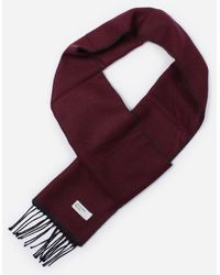 Universal Works Double Sided Scarf - Red