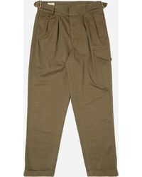 Polo Ralph Lauren - Brushed Twill Pleated Pant - Lyst