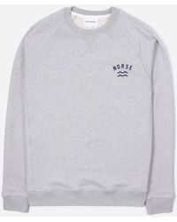 Norse Projects Ketel Ivy Wave Logo Sweatshirt - Multicolour
