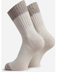 Anonymous Ism Linen Silk Socks - Multicolor