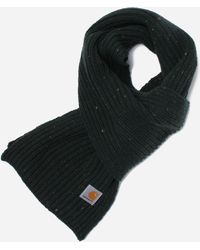Carhartt WIP Anglistic Plain Scarf - Black