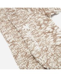 Snow Peak Garagara Socks - Brown