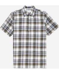 Norse Projects - Theo Textured Check Shirt - Lyst