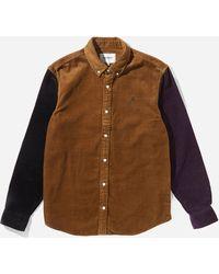 Carhartt WIP Trip Madison Cord Shirt - Multicolour