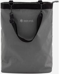 Snow Peak 2-way Tote Bag - Grey