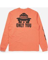 Filson Smokey Bear T-shirt - Orange