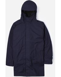 Norse Projects Elias Cambric Jkt - Blue