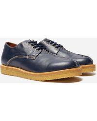 Wild Bunch Mst 4 Seam Leather - Blue