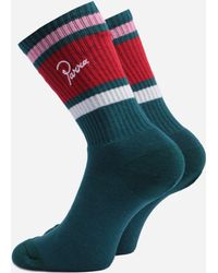 by Parra 4-pack Crew Socks - Red