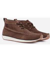 G.H.BASS Scout Runner Mid Boot Suede - Brown