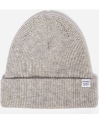 c875aec0595 Lyst - Norse projects Top Beanie in Black for Men