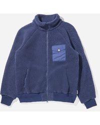 Battenwear Warm Up Fleece - Blue