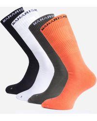 Maharishi 4 Pack Socks - Multicolour