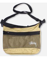 Stussy Lightweight Shoulder Bag - Metallic