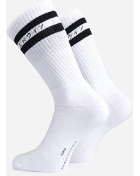 Edwin Démocratique Socks - White