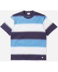 Armor Lux Bold Stripe T-shirt - Blue