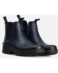 Barbour X Norse Projects Fury Wellington Boot - Blue