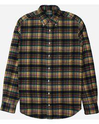 Gitman Brothers Vintage Check Long Sleeve Shirt - Multicolour