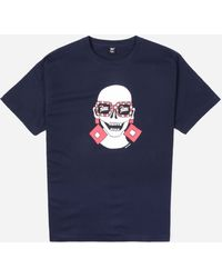PATTA Square Ring T-shirt - Blue