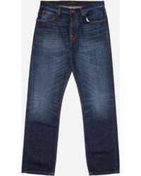 Nudie Jeans - Sleepy Sixten Relaxed Jeans - Lyst