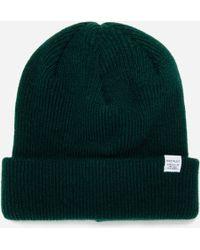 21376468c6e Norse Projects Cream Fairisle Alpaca-blend Beanie Hat in Natural for ...